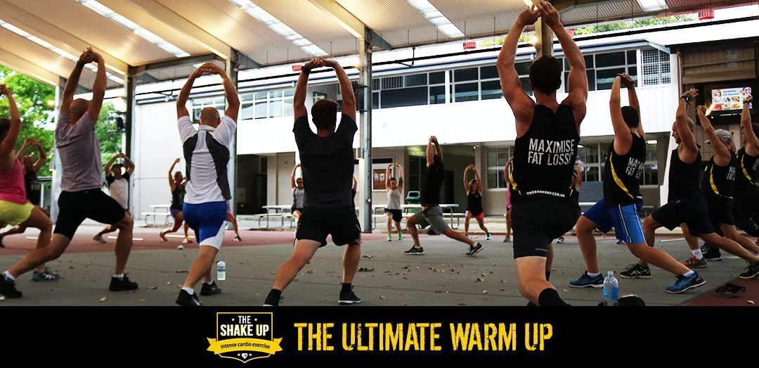 How to warm up for an intense training session