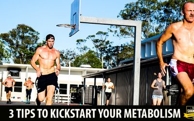 3 Tips to kickstart your metabolism