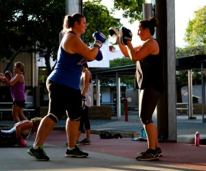 Group Training Sessions Outdoor Fitness